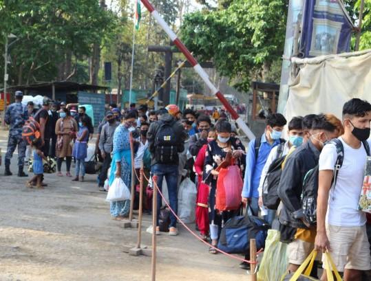 भारतमा 'डेल्टा भेरियन्ट'को संक्रमण बढेपछि जमुनाह नाकामा कडाई