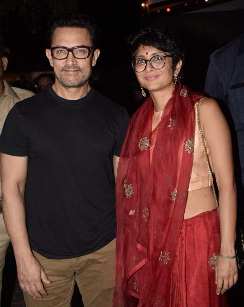 बलिउड अभिनेता अमिर खान र किरण रावको सम्बन्धविच्छेद