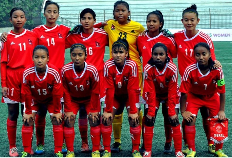 एएफसी एसिया कप छनोटका लागि नेपाली महिला टोलीको प्रशिक्षण शुरु