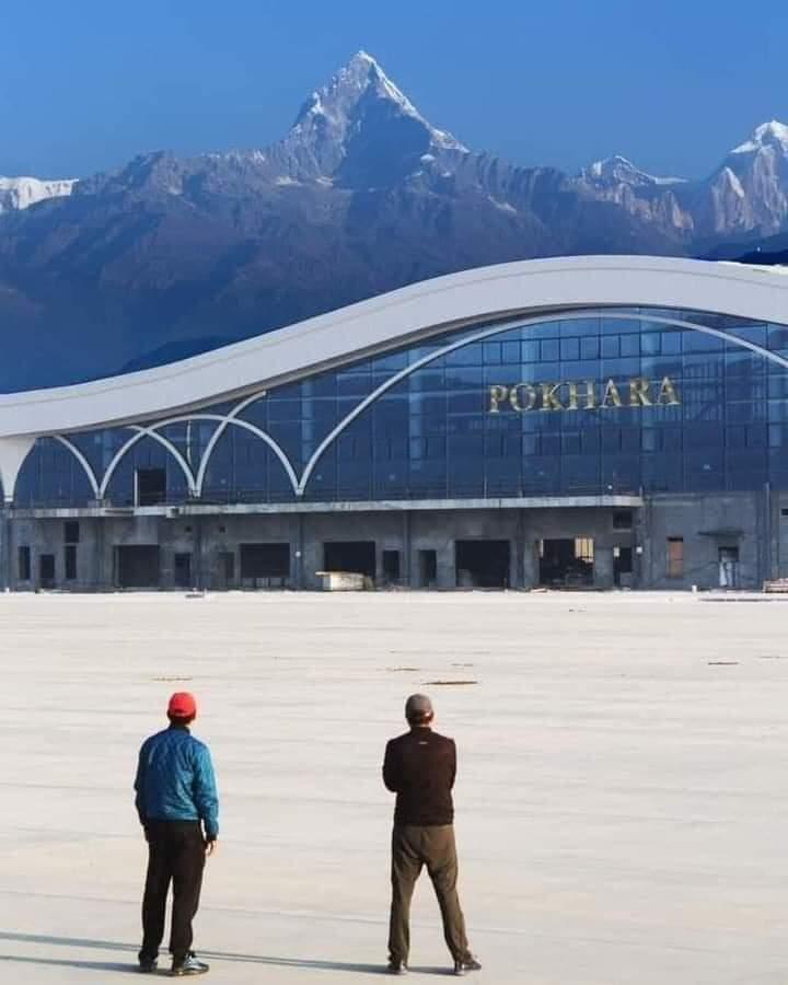 पोखरा अन्तर्राष्ट्रिय विमानस्थलको ८४ प्रतिशत भौतिक प्रगति, एक बर्षमा सक्ने लक्ष्य
